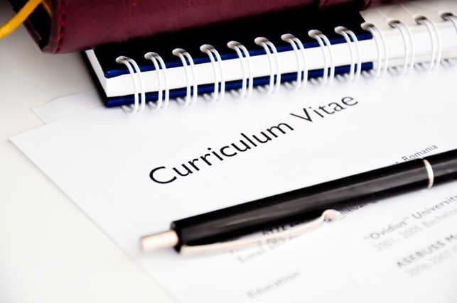 curriculum vitate - hiring